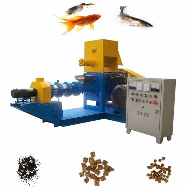 Stainless Steel Fish Feed Production Line Dog Food Making Machine